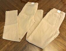 Girls Justice lot of 2 khaki uniform school pants size 12 Bnwt