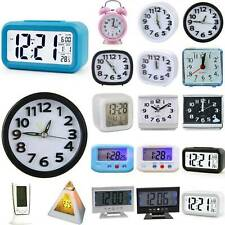 Digital Small Alarm Clock Snooze Electronic Table Clocks Home Bedroom Portable