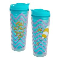 Dr. Seuss Oh the Places You'll Go 16 oz. Acrylic Travel Tumbler Graduation Gift
