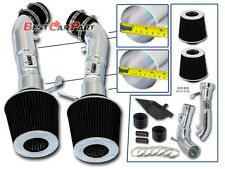 BCP BLK Heat Shield Cold Air Intake Kit For 2008 2009 2010 2011 2012 2013 G37