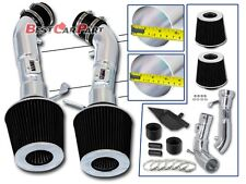 BCP BLACK Heat Shield Cold Air Intake For 2008-2013 G37 Coupe 3.7 V6