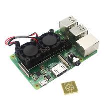 5 V Dissipateur De Chaleur Module Double Ventilateur De Refroidissement Fit pour Raspberry Pi 3B+