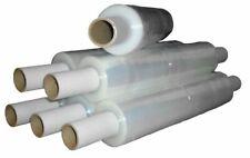 HEAVY DUTY 400mm x 30mu Clear Extended Core Stretch Shrink Film Pallet Wrap x 6
