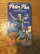 Peter Pan Mary Martin Musical VHS GOODTIMES PLATINUM SERIES NEVER OPENED