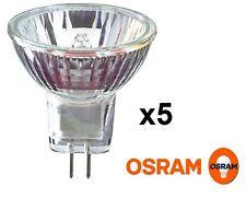 x 5 OSRAM 10W 20W 35W MR11 Lampe spot halogène 12V GU4 Ampoule réflecteur