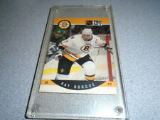 Ray Bourque Boston Bruins NHL Pro Set #1 Hockey Card In Protector Case