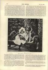 1896 MISS EVA Moore Terry's TEATRO JAMES Bacon Leeds Fotografia