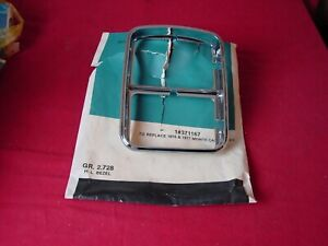 NOS 1976 1977 Monte Carlo LH Headlight Bezel New OEM GM 371167
