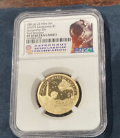2019 S Proof Sacagawea Dollar $1 NGC PF 70 From Rocketship Set  First Release