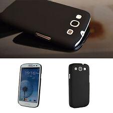 Samsung Galaxy S3 Case Cover Tasche Etui Schutz Hülle Schale i9300 [SCHWARZ]