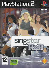 SINGSTAR R&B for Playstation 2 PS2 - manual in DE NL FR IT