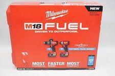 NEW Milwaukee 2796-22 M18 FUEL ONE KEY 18V Li-Ion Brushless Cordless Combo Kit