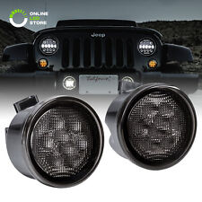 LED DRL Turn Signal Lights for 07-18 Jeep Wrangler JK Unlimited Accessories