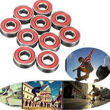10Pcs ABEC-5 Skateboard Longboard Skate Roller Hocker Wheel Bearings 608-2RS