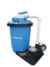 Sandfilteranlage 12,3 m3/h Premium 100 + Schaltuhr Filter Schwimmbadpumpe Pumpe