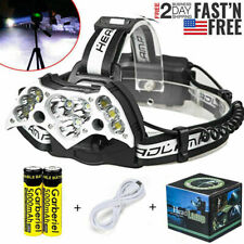 990000LM 11X T6 Rechargeable LED Headlamp Headlight 18650 Flashlight Head Torch