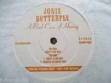 "JONIS BUTTERFLY - A BAD CASE OF HONEY 12"" RECORD / VINYL - CLOWN P002"