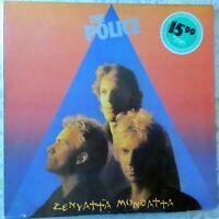 THE POLICE LP ZENYATTA MONDATTA 1980 EUROPE VG++/VG++ OIS