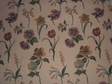 """Lee Jofa """"Candida"""" floral tapestry weave by the yard color yellow multicolored"""