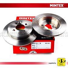 2X MINTEX REAR BRAKE DISCS MDC1804 MINI MINI (R50, R53) 01-06 (R52) 07/04 11/07