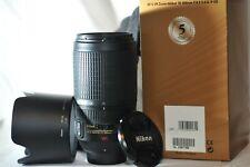 Nikon ED AF-S Nikkor 70-300mm f/4.5-5.6 G VR FX lens for D850 DF D750 D5600 D5