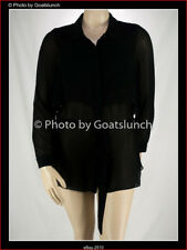 City Chic Top With Belt Size 14 (XS) NWOT Career Professional Corporate