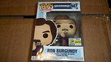 Funko Pop Official SDCC 2020 Exclusive Anchorman Ron Burgundy figure w/ protect