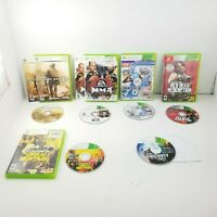 Microsoft Xbox 360 Lot of 6 Games, Undead, Red Dead, Call Duty, MMA, Madden 13