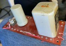 TRIAD HSM-223 TUBE FILAMENT TRANSFORMER SPRAGUE CAPACITOR & 12 GERMANIUM DIODES