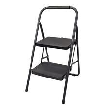 Silverline 2 Step Ladder Safety Non Slip Mat Tread Foldable 150kg Capacity