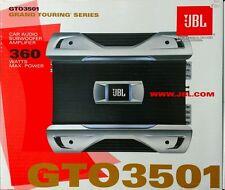 JBL GTO3501 Grand Touring Series 360 Watts Mono Channel Car Amplifier