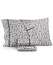 Pair of Whim by Martha Stewart Novelty Print Standard Pillowcases Cheetah $80