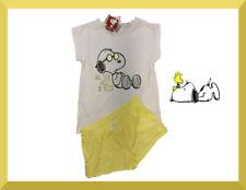 SNOOPY Peanutz Damen Disney Sommer Schlafanzug Pyjama Gr. XL  ( 44/46) NEU