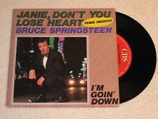 BRUCE SPRINGSTEEN JANIE DON´T YOU LOSE HEART SPANISH ORIGINAL ISSUE 7""