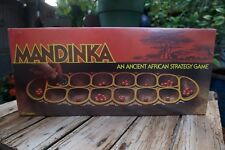 NEW Mandinka Board Game Ancient African Strategy Mancala Vintage Milton Bradley