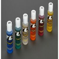 New Team Losi Racing Silicone Shock Oil 6-Pack 20,25,30,35,40,45, 2oz Car/Tru...
