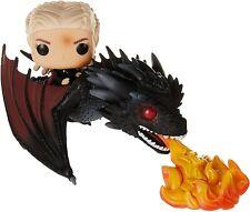 Funko 45338 POP Rides: Game of Thrones Daenerys on Fiery Drogon Pop Vinyl Figure