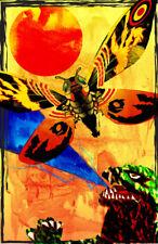 Godzilla Mothra 11 x 17 High Quality Poster