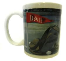 Fathers Day Birthday Mug Golf Club Ball Bag Course Squirrel Dad Cup Collectible