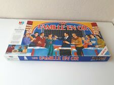 """RARE ANCIEN JEU DE SOCIETE """" UNE FAMILLE EN OR """" PAR MB DE 1990 COMPLET EN BOITE"""
