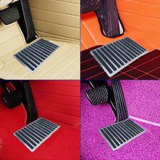 "Universal  9"" x 6"" Steel Car Floor Carpet Mat Patch Foot Heel Plate Pedal Pad"