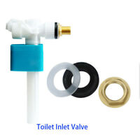 Pro Side Entry Inlet Valve Connect For Cistern Brass Shank Single Float Hot