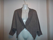 womans dark beige v neck cardigan from george size 12 in good condition