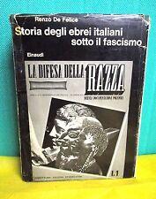 De Felice STORIA EBREI ITALIANI SOTTO IL FASCISMO - Biblioteca Einaudi 1972
