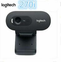 Logitech C270i 720P Webcam IPTV HD PC Minikamera Eingebautes Mikrofon USB2.0 DE