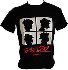 New Gorillaz Demon Days Rock Band T-shirt size XL. (gorillaz7)