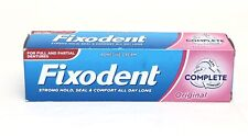 Fixodent Complete Original Denture Strong Hold Adhesive Cream Food Seal Comfort
