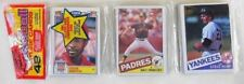 1985 Topps Rack Pack McGwire Clemens or Puckett RC? O. Smith Front Dawson Back