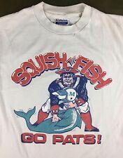 True Vintage 1985 New England Patriots Playoffs Dolphins NFL Football T-Shirt M