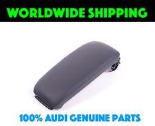 Audi A3 8P Center Armrest Lid Sabre Black Leathere GENUINE 8P0864245AA38M